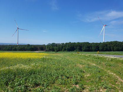 Windenergie ist Klimaschutz – Windpark am Waltersberg