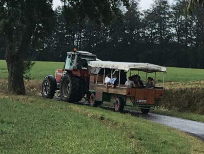 Sommerfest mit Planwagen!