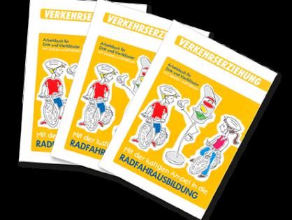 Malbuch Radfahrausbildung für Grundschulkinder